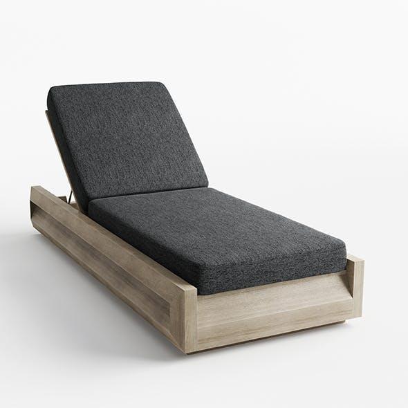 Paloma Teak Chaise Lounge
