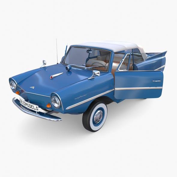 Amphicar 770 Blue w Interior Top Up