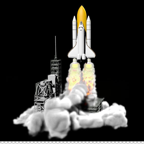 Launch the space shuttle