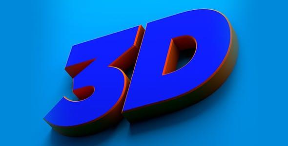 3d Title Design - 3DOcean Item for Sale