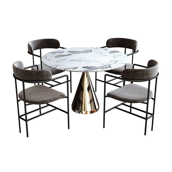 dining set - 3DOcean Item for Sale