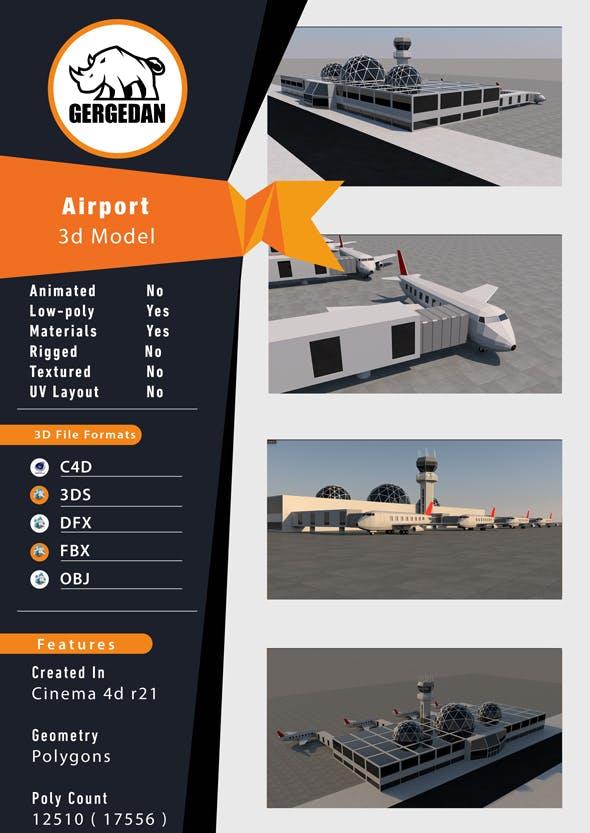 Airport - 3DOcean Item for Sale