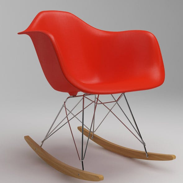 Photoreal Eames Chair - RAR + vray materials