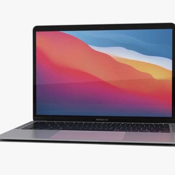 Apple MacBook Air 2020 M1 Silver - 3DOcean Item for Sale