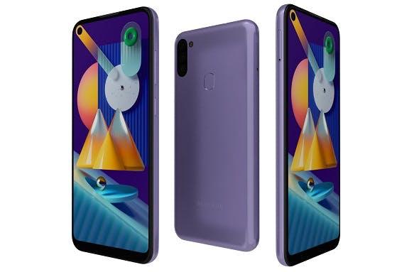 Samsung Galaxy M11 Violet - 3DOcean Item for Sale