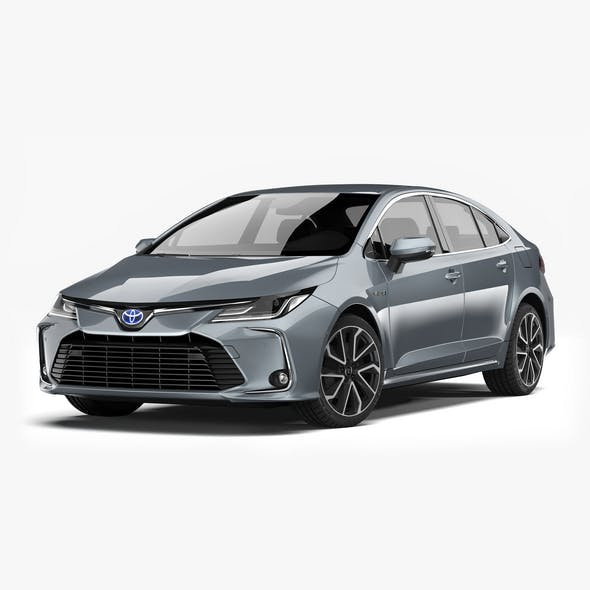 Toyota Corolla Hybrid 2020 - 3DOcean Item for Sale
