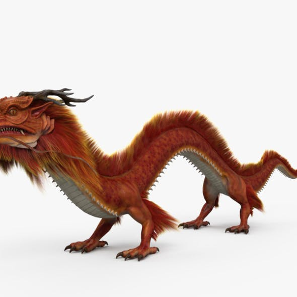 Chinese Dragon HD - 3DOcean Item for Sale