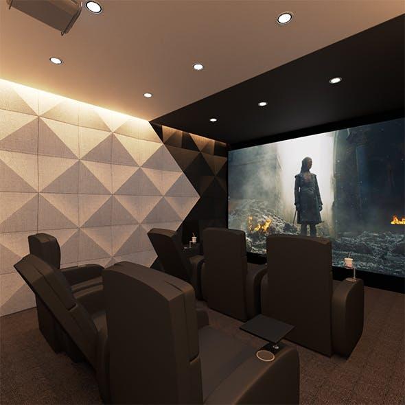 Cinema Room, Home Theatre