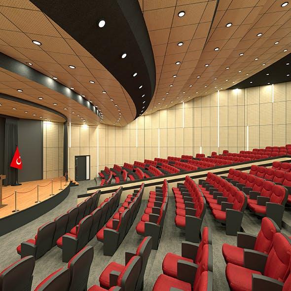 Conference Hall, Auditorium Design