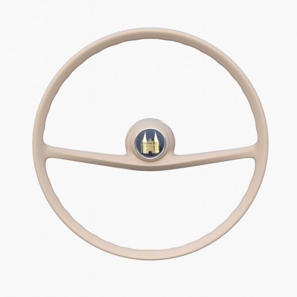 Amphicar 770 Steering Wheel - 3DOcean Item for Sale