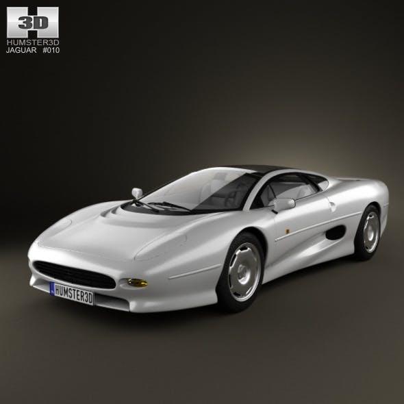 Jaguar XJ220 1992 - 3DOcean Item for Sale