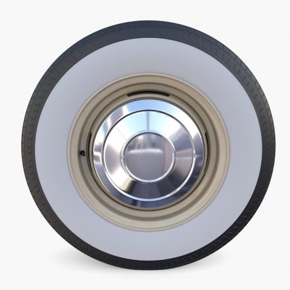 Generic 60s Car Wheel - 3DOcean Item for Sale