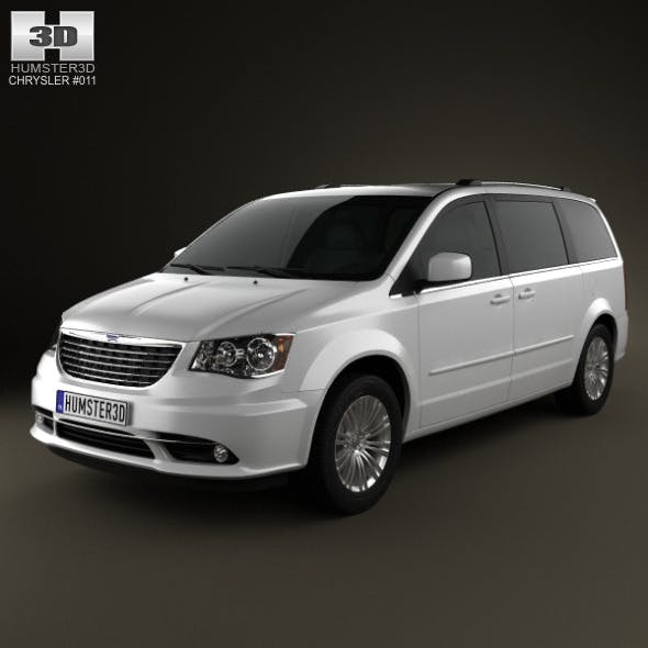 Chrysler Town & Country 2012 - 3DOcean Item for Sale