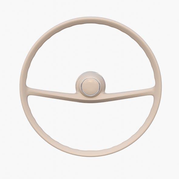 Generic 60s Car Steering Wheel - 3DOcean Item for Sale