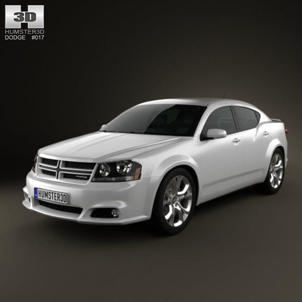 Dodge Avenger RT 2012 - 3DOcean Item for Sale