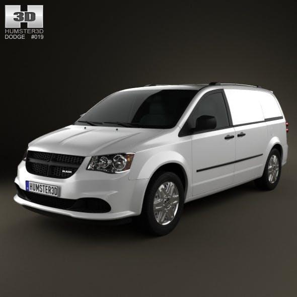Dodge Ram CV 2011 - 3DOcean Item for Sale