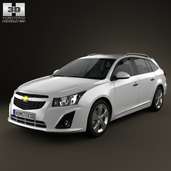 Chevrolet Cruze Wagon 2012 - 3DOcean Item for Sale