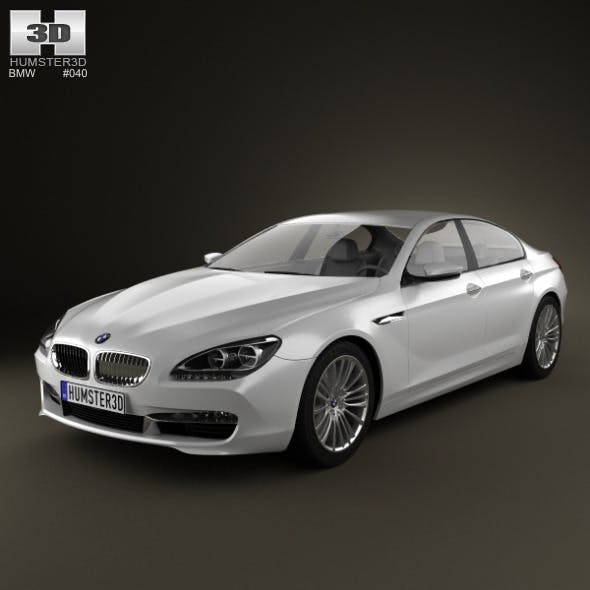 BMW 6 Series Gran Coupe (F14) 2012 - 3DOcean Item for Sale