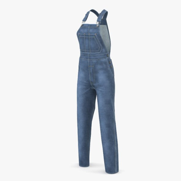 Women's Overall - 3DOcean Item for Sale