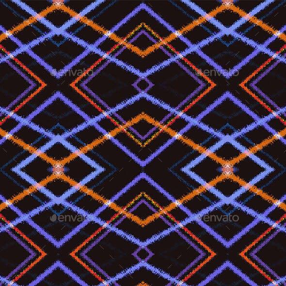 Intersecting Diamonds Seamless Pattern