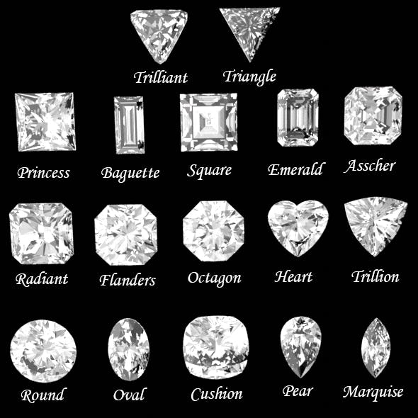 Diamonds cuts 17