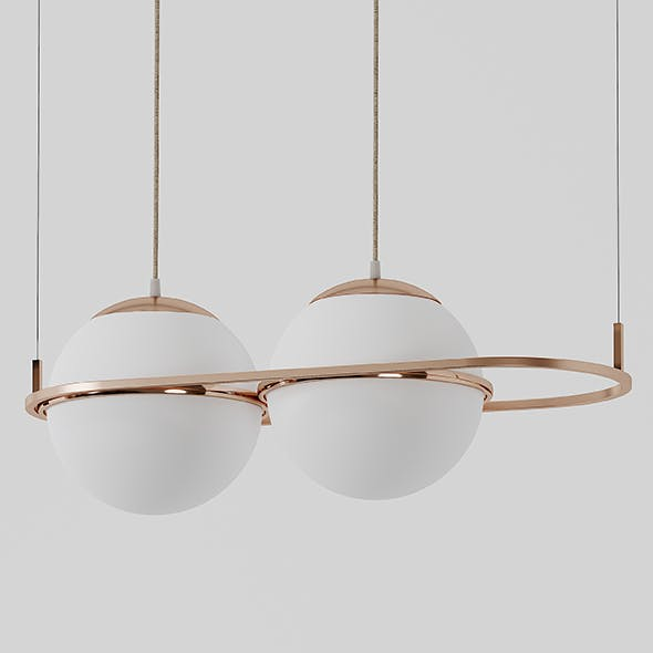 Deco Pendant Lamp by Mingardo - 3DOcean Item for Sale