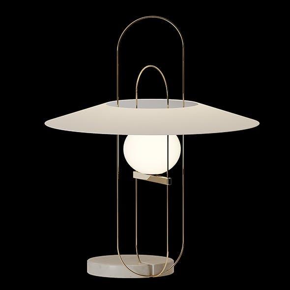 SETAREH Table lamp Fontana Arte - 3DOcean Item for Sale