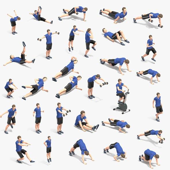 30 Exercise Animations Bundle VOL 2