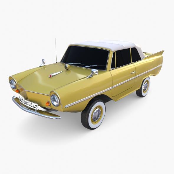 Generic 60s Amphibious Car Top up - 3DOcean Item for Sale