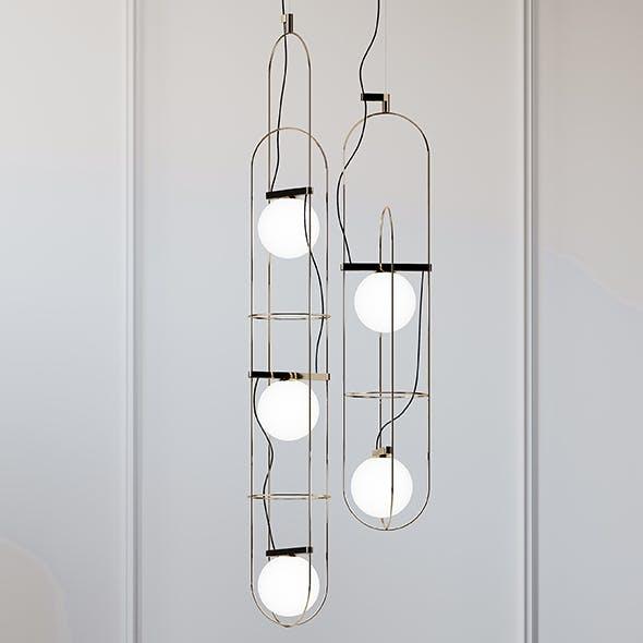 SETAREH Pendant Lamp FontanaArte