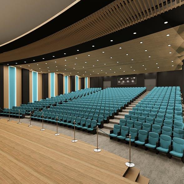 Auditorium Hall Interior Design