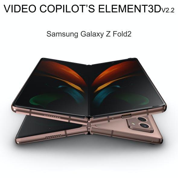 Element3D - Samsung Galaxy Z Fold2