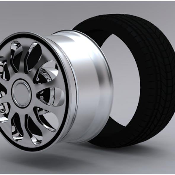Car Wheel v2.0