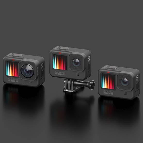 GoPro HERO 9 Set - 3DOcean Item for Sale