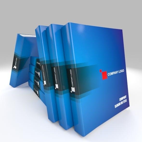 File Case Set - Model, Texture and Render - 3DOcean Item for Sale
