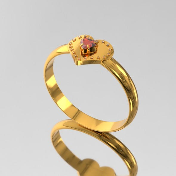 Love Ring SIT02 - 3DOcean Item for Sale