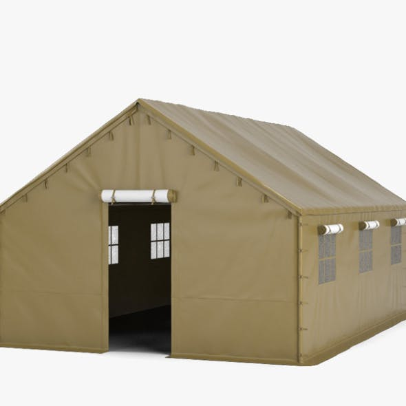 Military Tent - 3DOcean Item for Sale