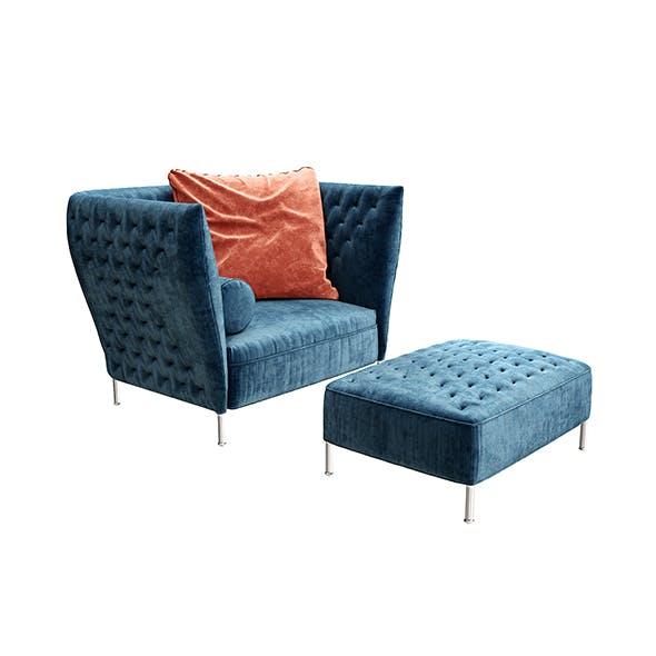 Saba Italia armchair
