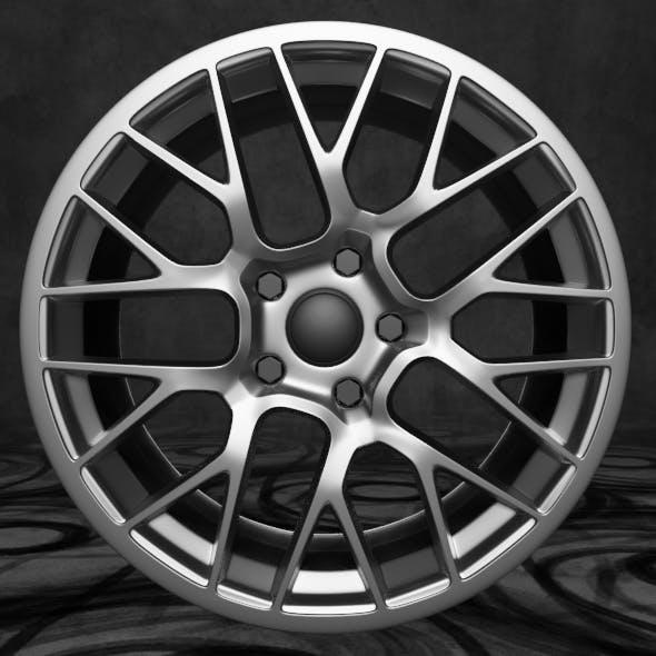 Car rim - 3DOcean Item for Sale