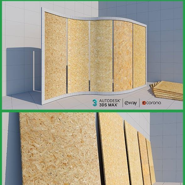 Plywood Panels 3dsMax