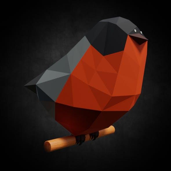 Low-poly bird