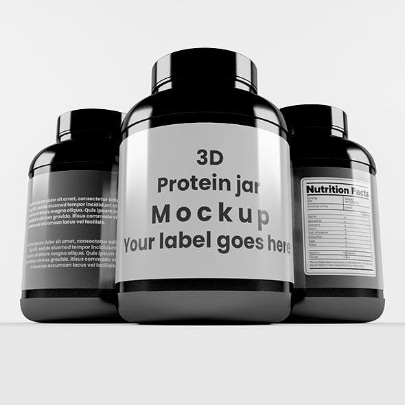 Supplement / Protein / Plastic Jar_1