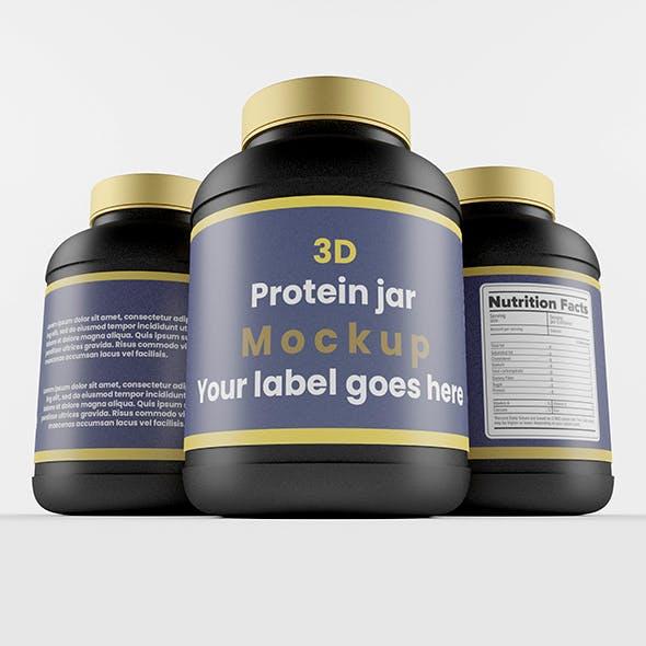 Supplement / Protein / Plastic Jar_2