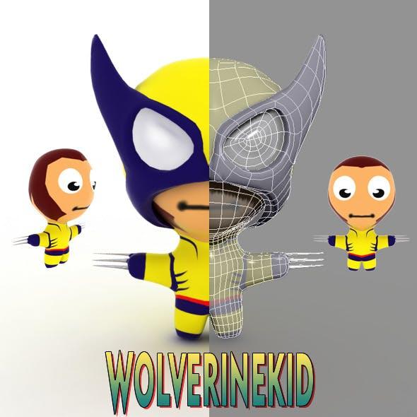 Wilverinekid Cartoon - 3DOcean Item for Sale