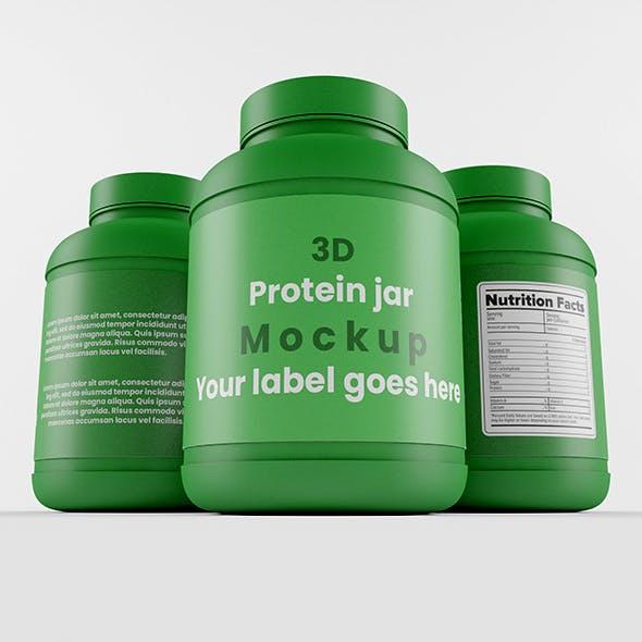 Supplement / Protein / Plastic Jar_5
