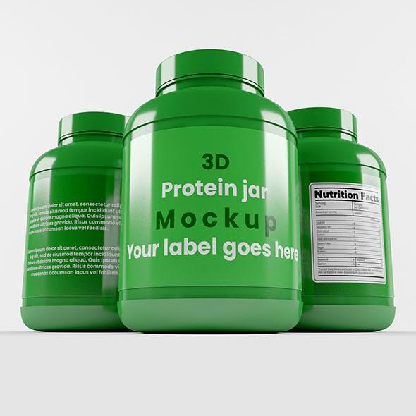 Supplement / Protein / Plastic Jar_6