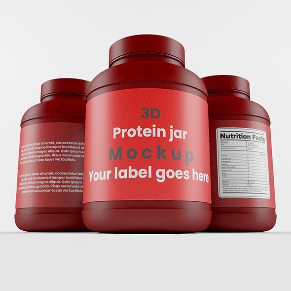 Supplement / Protein / Plastic Jar_9