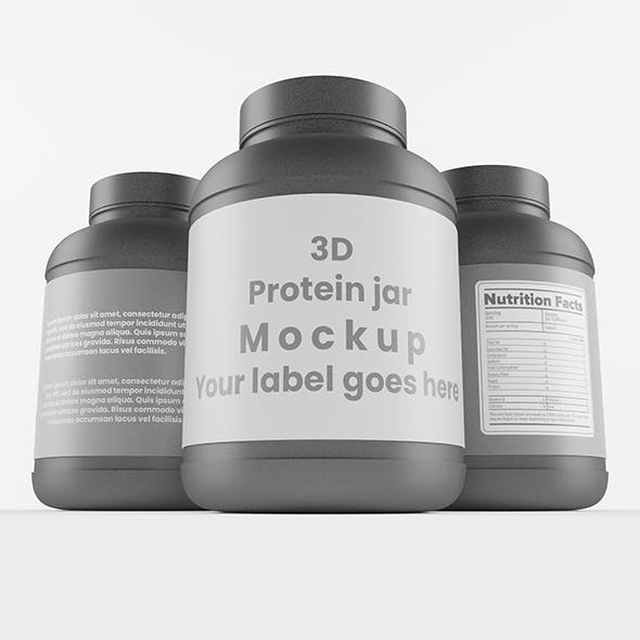 Supplement / Protein / Plastic Jar_10