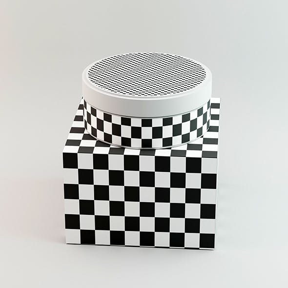 Cosmetic Container - 3DOcean Item for Sale