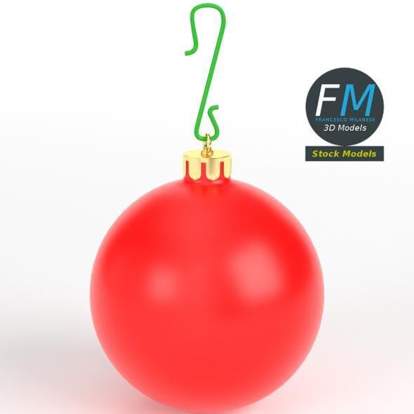 Christmas ball matte